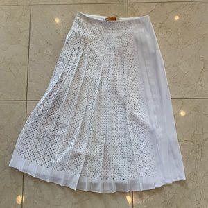 Tory Burch NWT $528 Carine Maxi Skirt Sz 0 So Cute